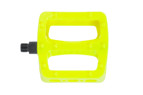Odyssey Twisted Pro PC Pedals (Fluorescent Yellow)