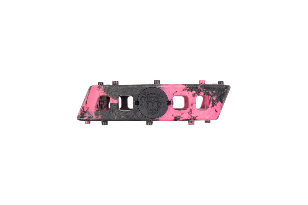 Odyssey Twisted Pro PC Pedals (Black/Pink Swirl)