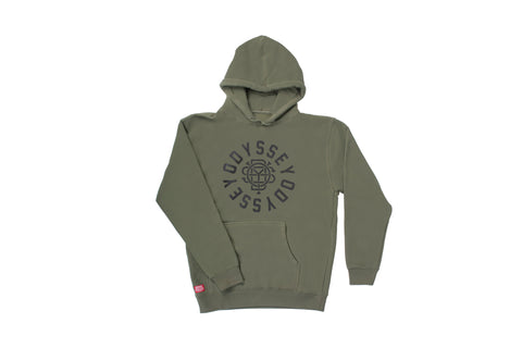 Odyssey Central Pullover Hoodie (Olive)