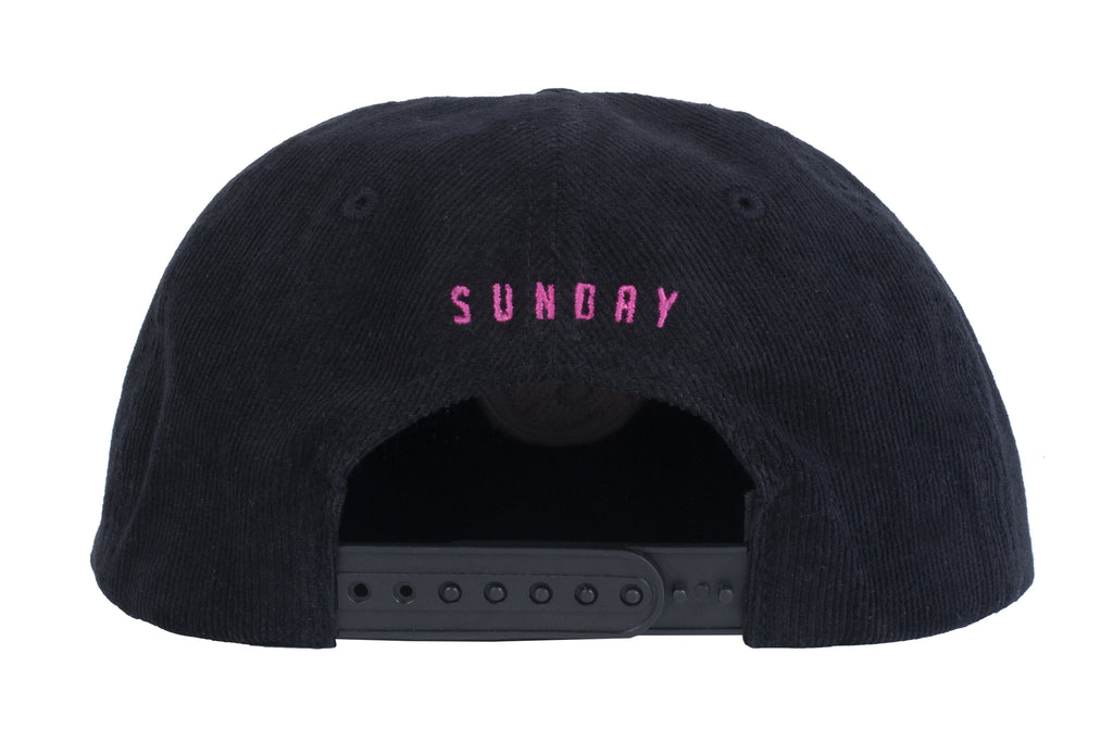 Sunday Bullpen Corduroy Hat (Black)