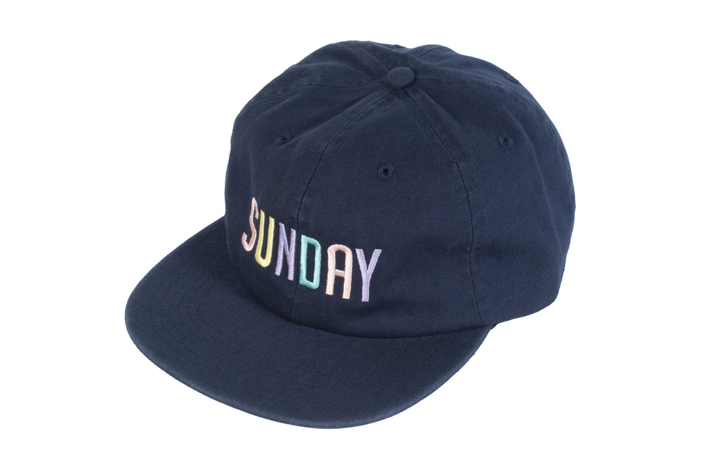 "Sunday ""Shape"" Unstructured Hat (Navy)"