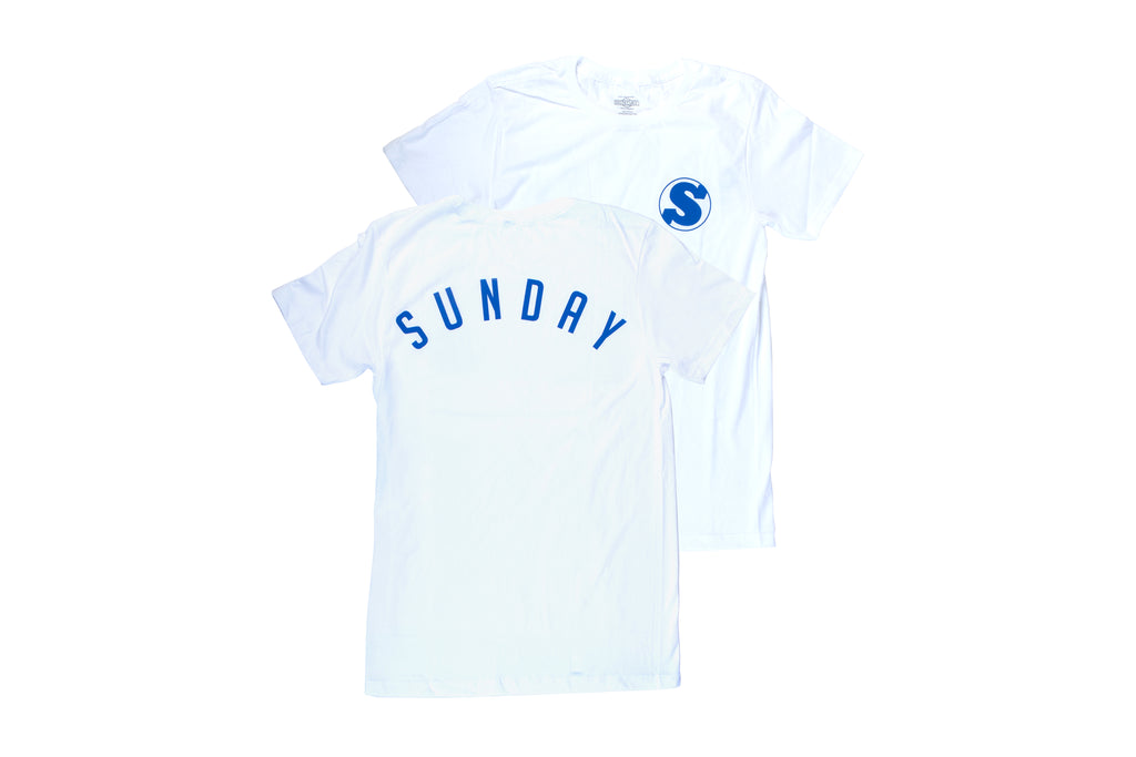 Sunday Bullpen Tee (White)