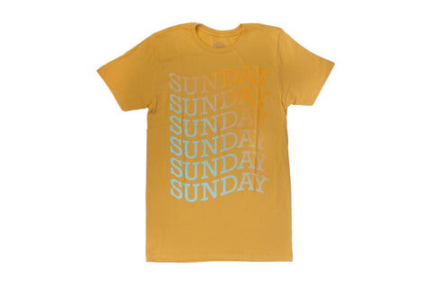 Sunday Delirious Tee (Gold)