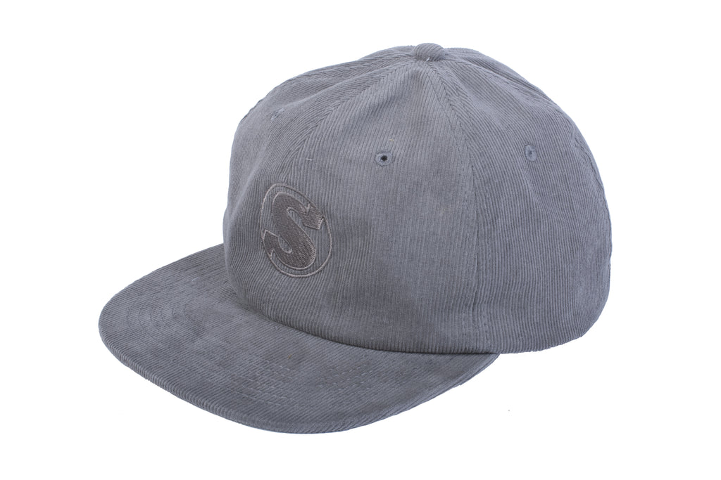Sunday Bullpen Corduroy Hat (Grey)