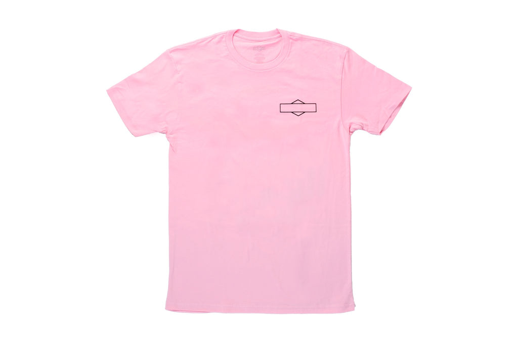 Sunday Big S Tee (Pale Pink)