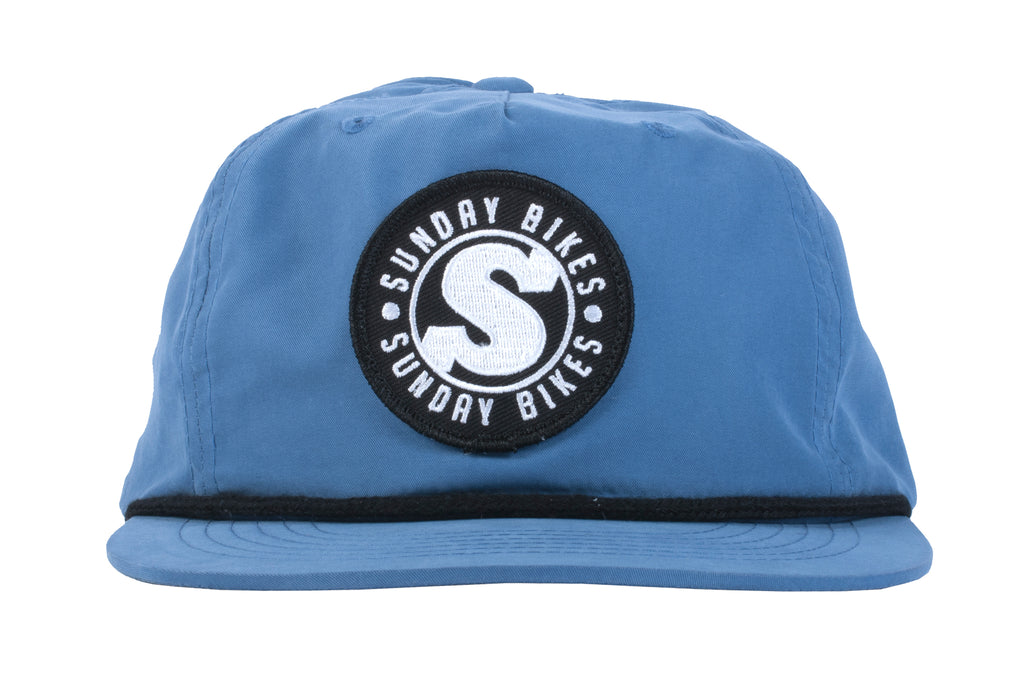 Sunday Bradge Unstructured Hat (Light Blue)