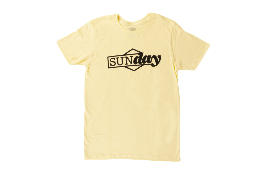 Sunday Composite Tee (Notepad Yellow)
