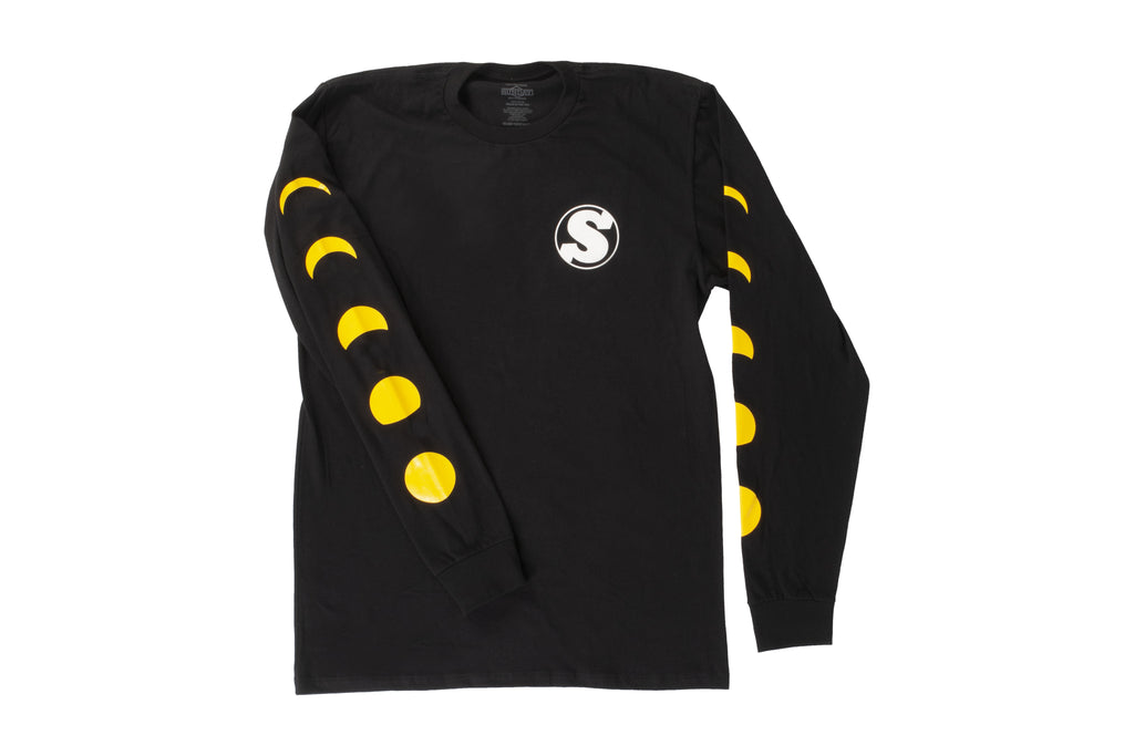 Sunday Phased Long Sleeve Shirt (Black)