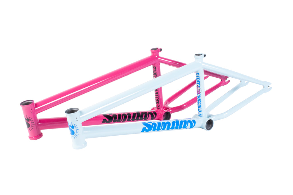 Sunday Street Sweeper Frame (Sky Blue)
