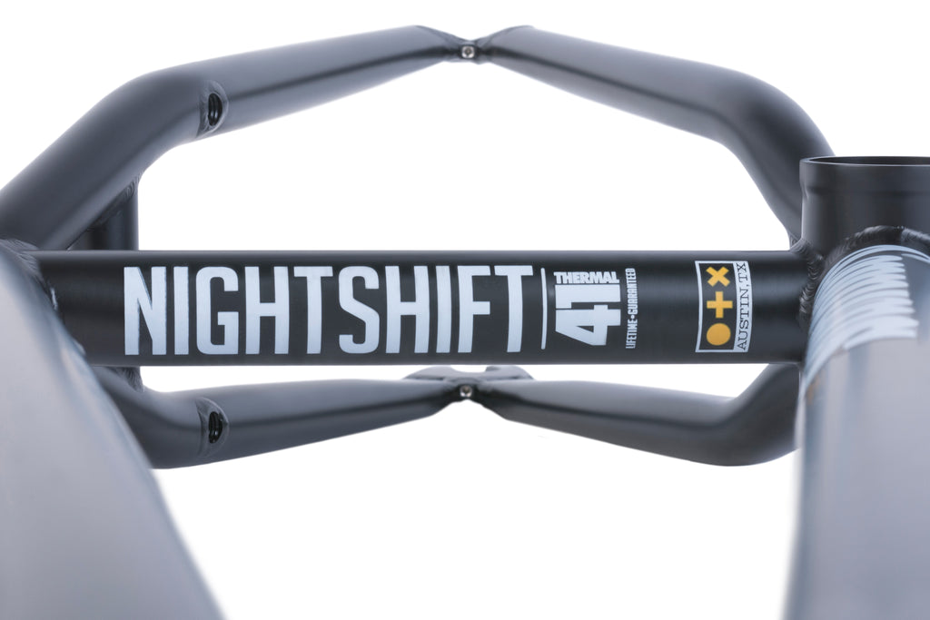 Sunday Nightshift Frame (Matte Rust Proof Black)