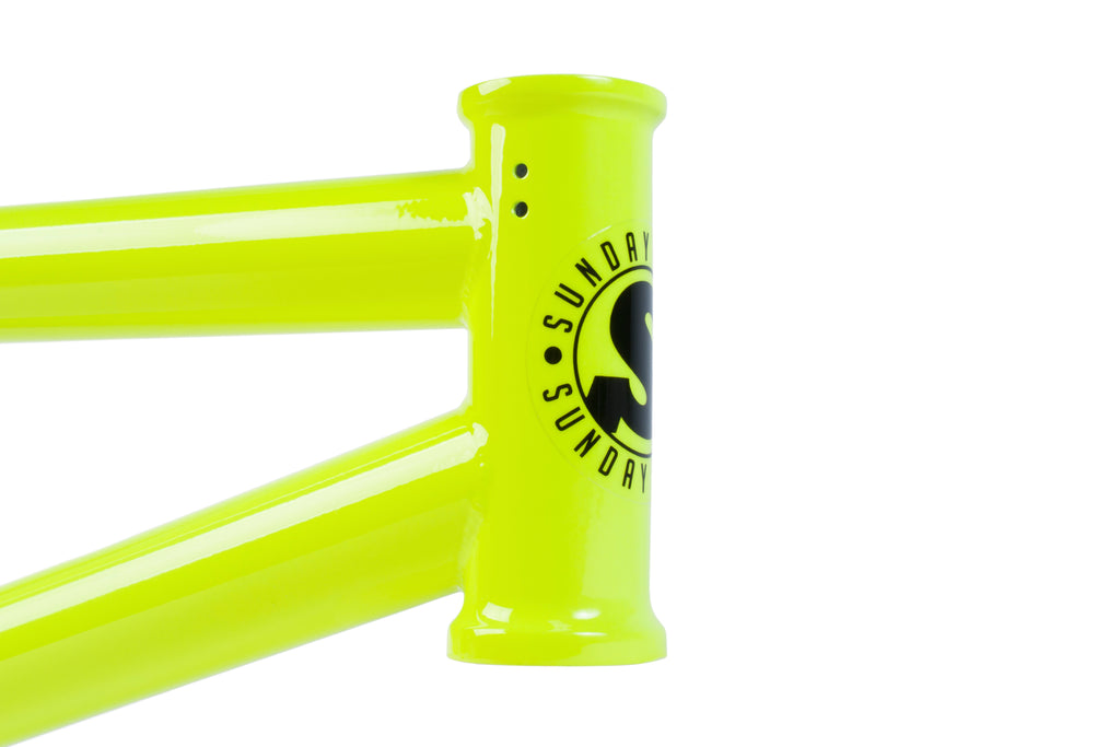 Sunday Street Sweeper Frame (Fluorescent Yellow)