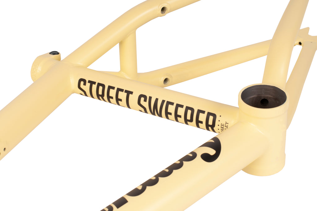 Sunday Street Sweeper Frame (Matte Notepad Yellow)
