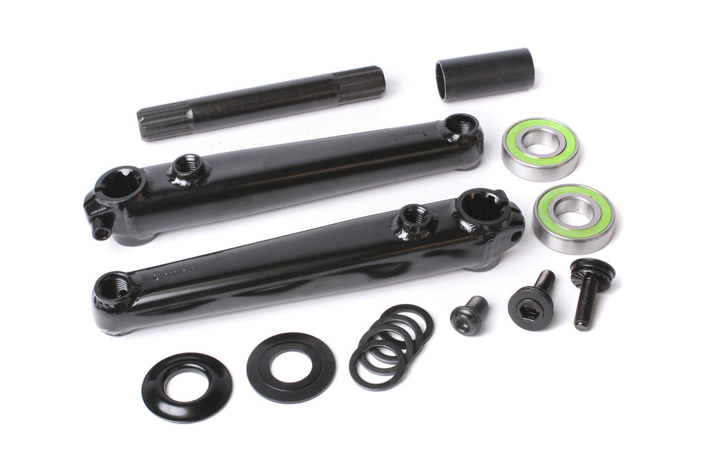 Sunday Saker v2 Cranks (Black or Chrome)