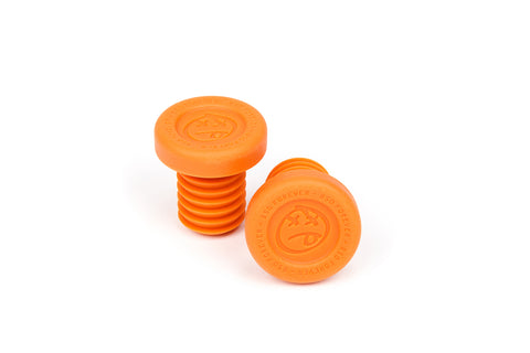 BSD Forever Bar Ends (Classic Orange)