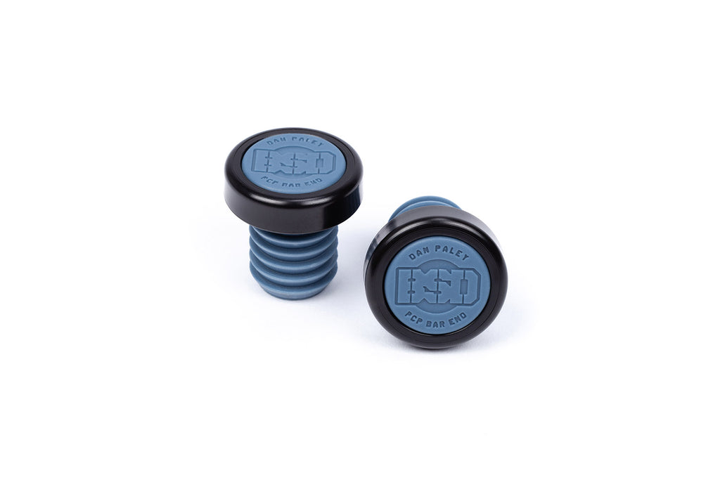 BSD PCP Bar Ends (Steel Blue)