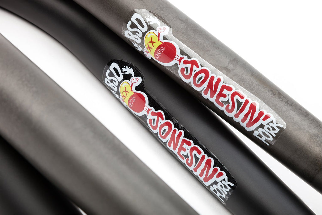 BSD Jonesin' Fork (Flat Black or Flat Raw)