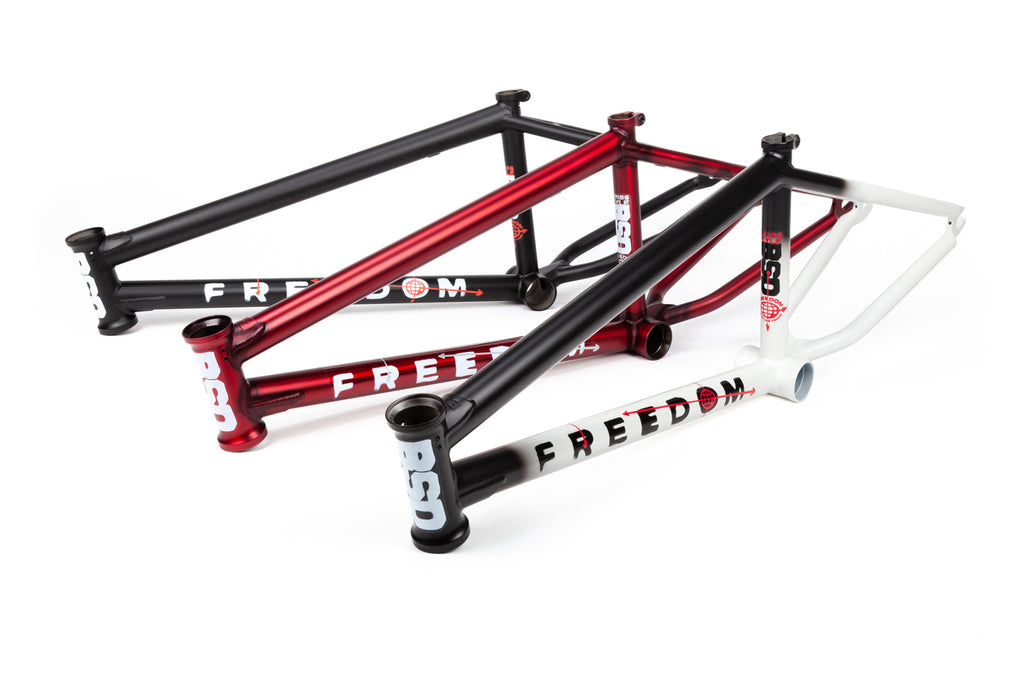 BSD Freedom Frame (Flat Trans. Red)