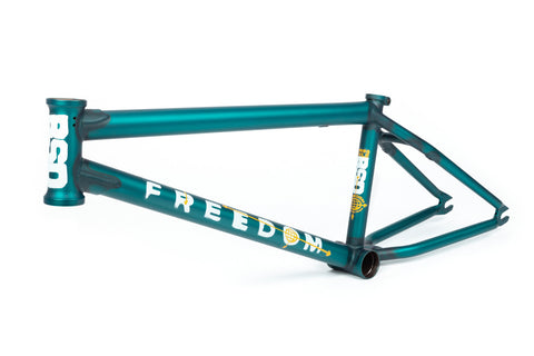 BSD Freedom Frame (Flat Trans Turquoise)