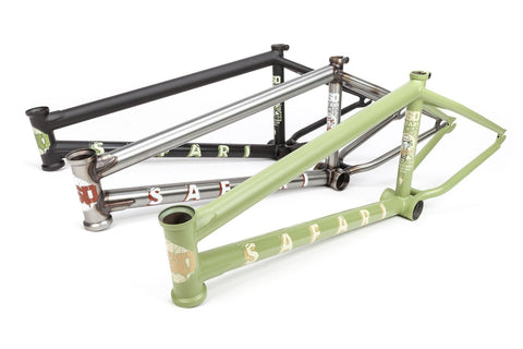 BSD SAFARI FRAME - Reed Stark signature (Flat Black, Flat Raw, or Mountain Moss)