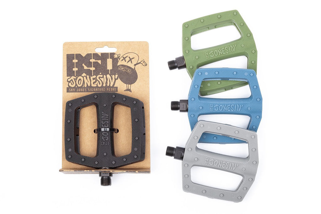 BSD Jonesin' PC Pedals (Sam Jones - Steel Blue)
