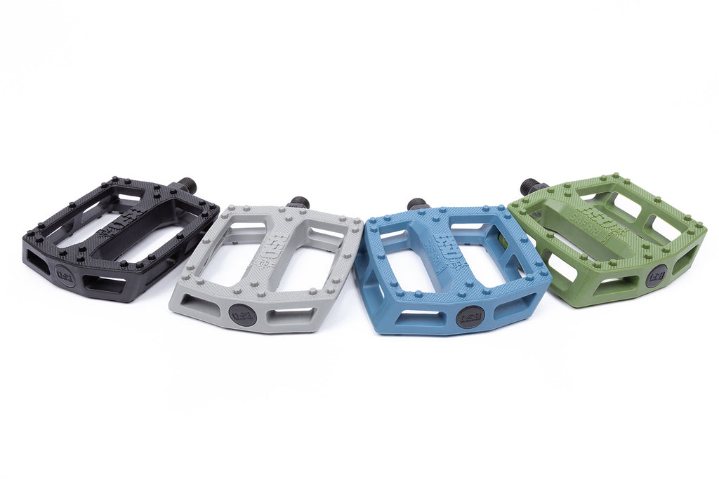 BSD Safari Pedals (Reed Stark Signature - Carbon Gray)
