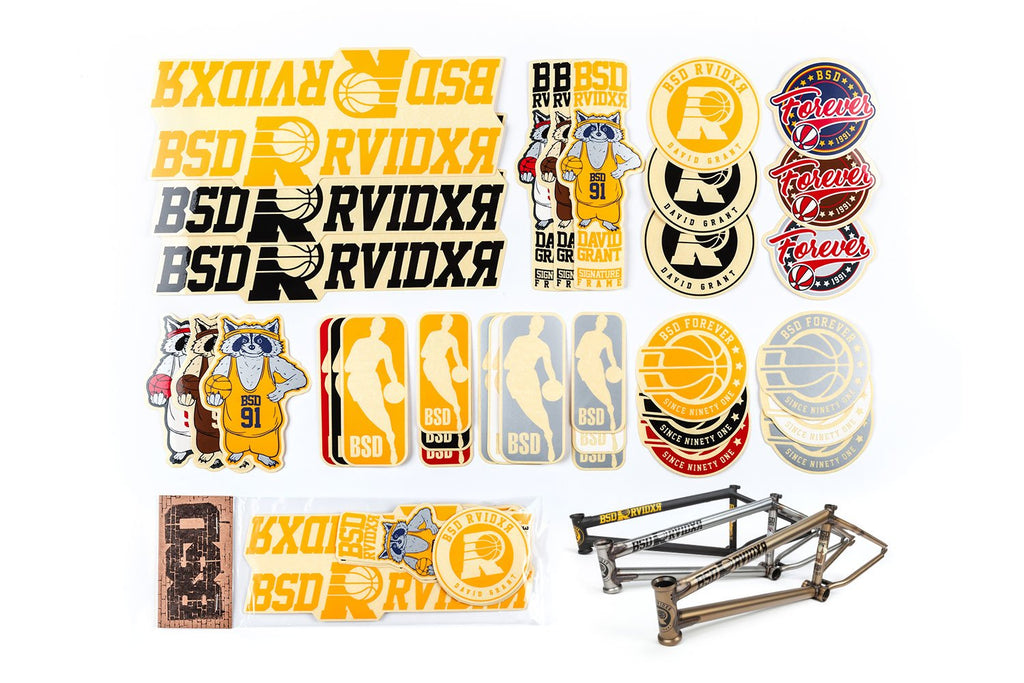 BSD Frame Sticker Packs