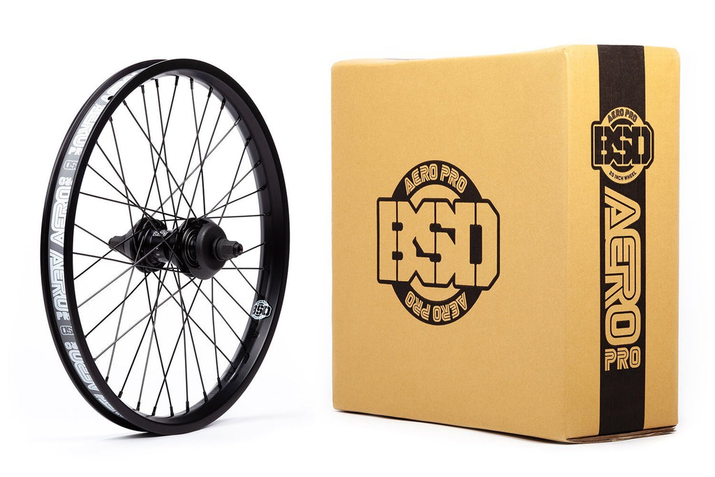 BSD Aero Pro West Coaster Wheel (Black)