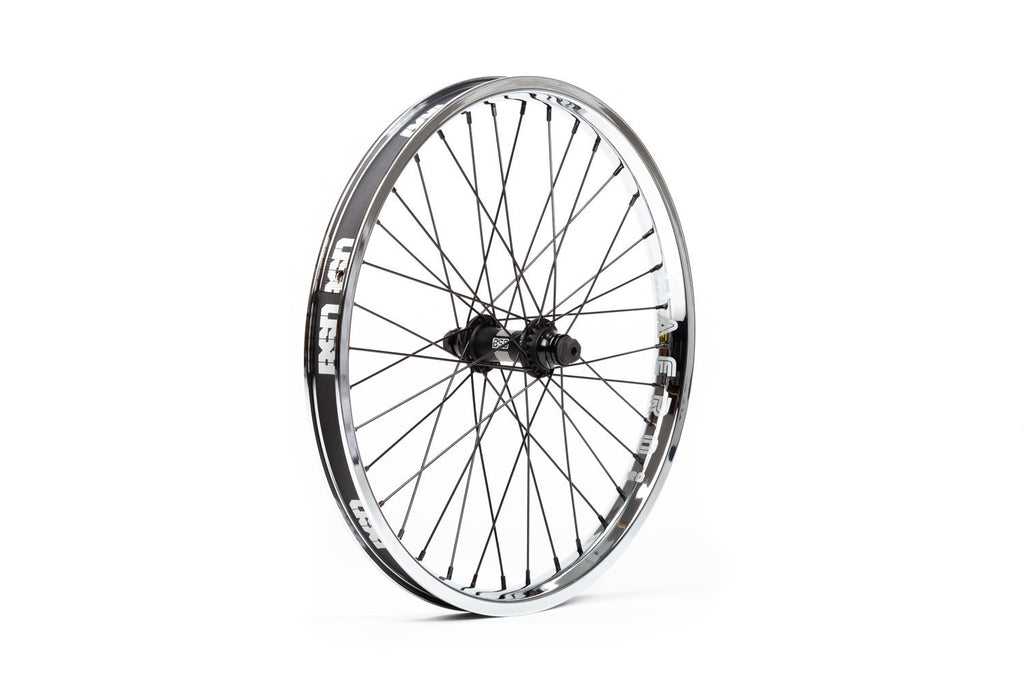 BSD Swerve + Aero Pro Front Wheel (Chrome)