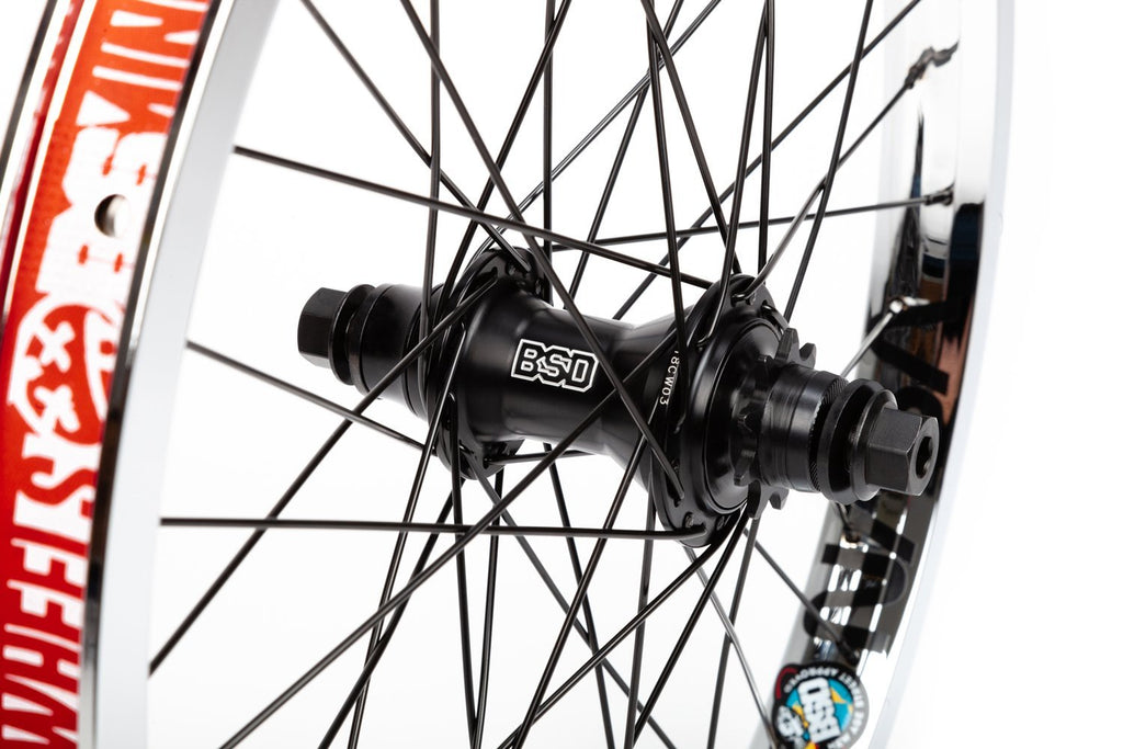 BSD Back Street Pro Mind Wheel (Chrome)