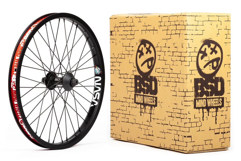 BSD Front Street Pro Mind Wheel (Black)