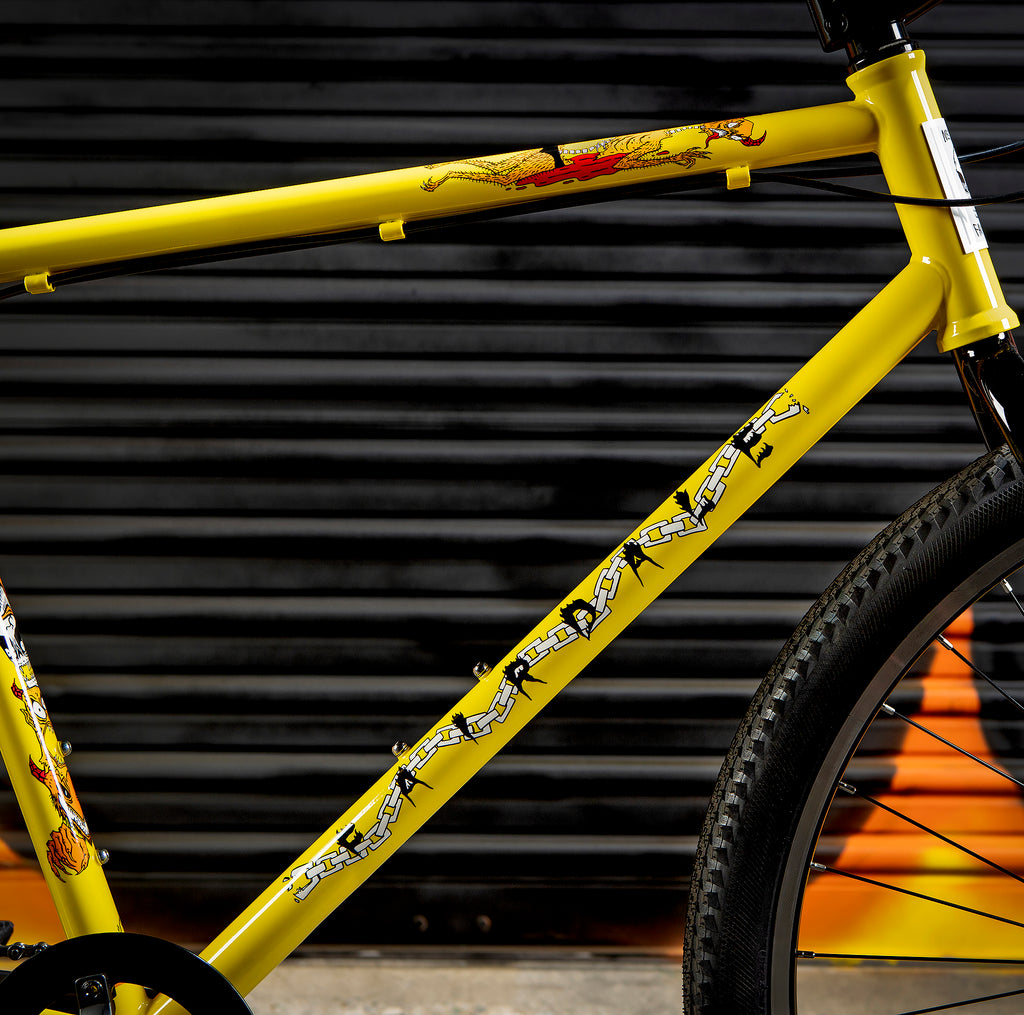 2021 Fairdale Neckface Flyer (Gloss Yellow in S/M & M/L)