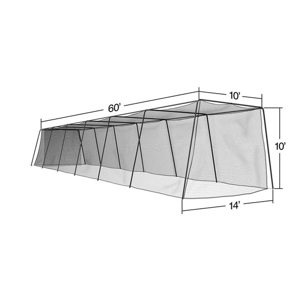 Portable Batting Cage with Frame