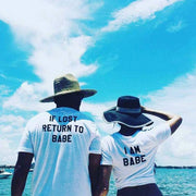Couples Shirts - Return To Babe