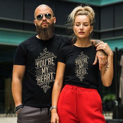 Couples Shirts - You're My Heart You're My Soul