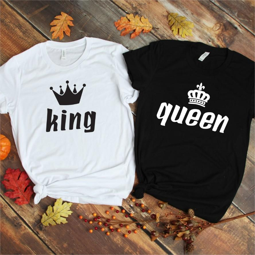 Couples Shirts - King & Queen