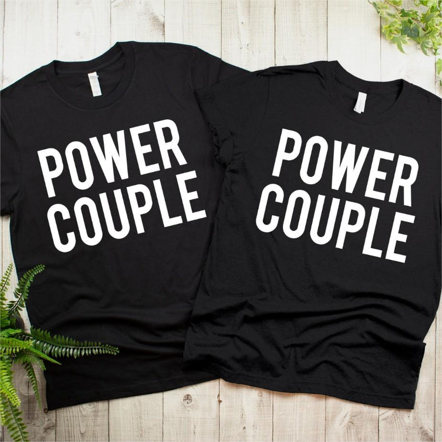 Couples Shirts - Power Couple