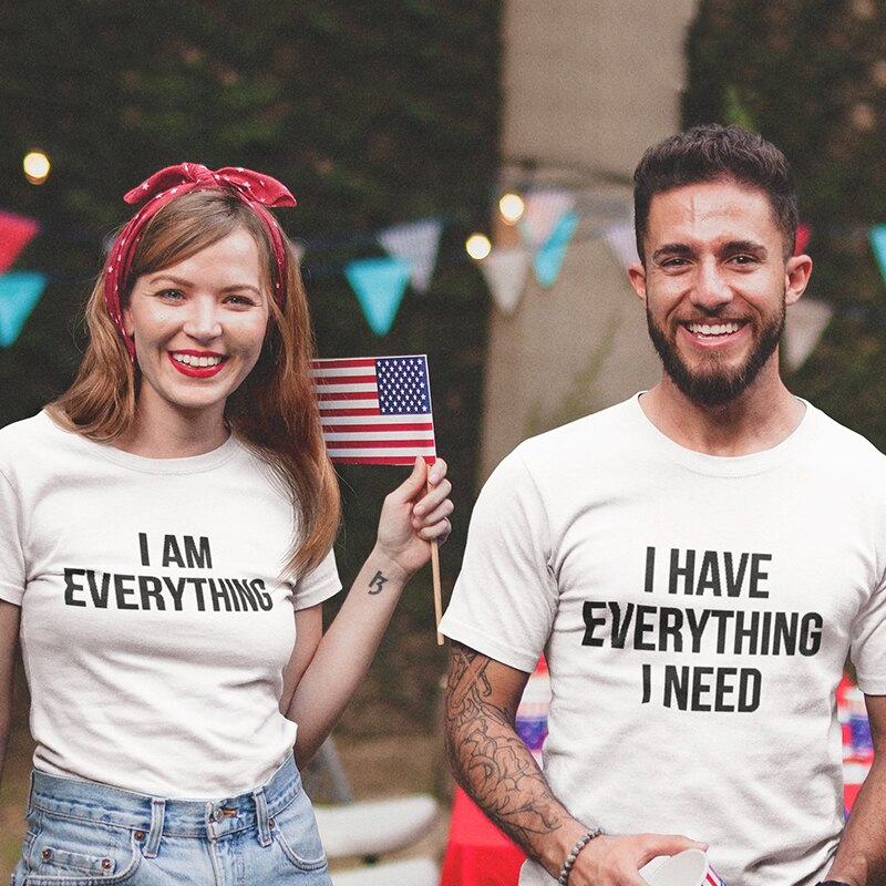 Couples Shirts - Everything I Need