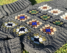Load image into Gallery viewer, Revival - a granny square jumper crochet pattern