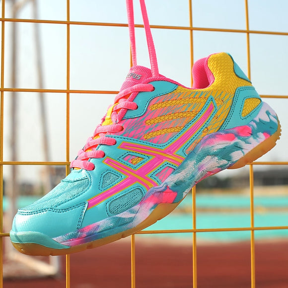 Women's Men's Volleyball Shoes with Non-slip Sport Shoes Wear Casual Shoes Sneakers Men Soft Lightweight Badminton Tennis Shoes