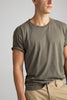 Knit Crew Neck T-Shirt - Army