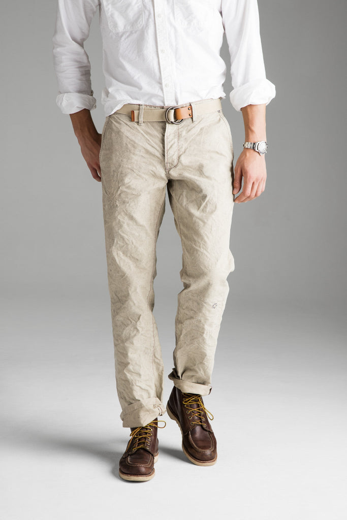 Foundation Straight Pant - WW Tan