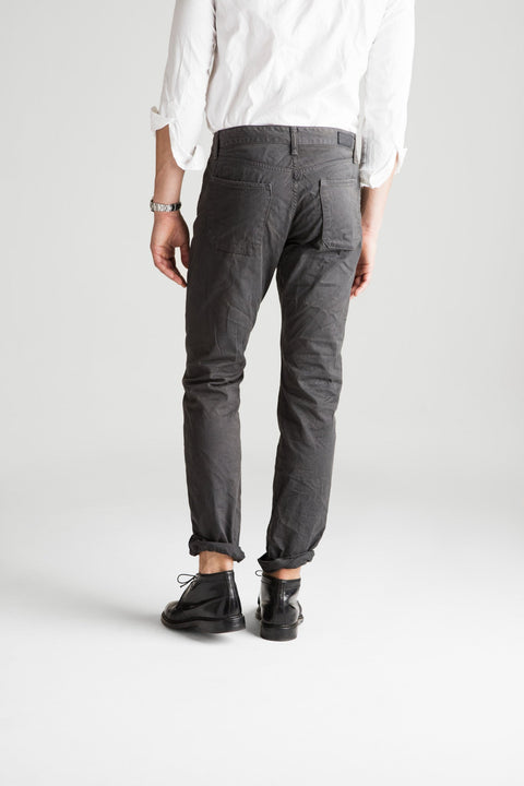 Franklin Straight Sateen Pant - Oil
