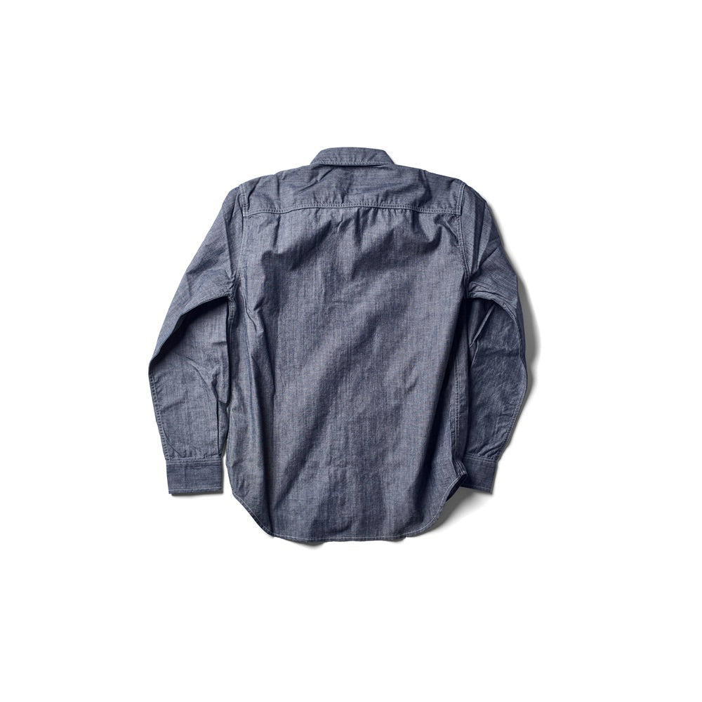 Dean Shirt - Chambray Indigo