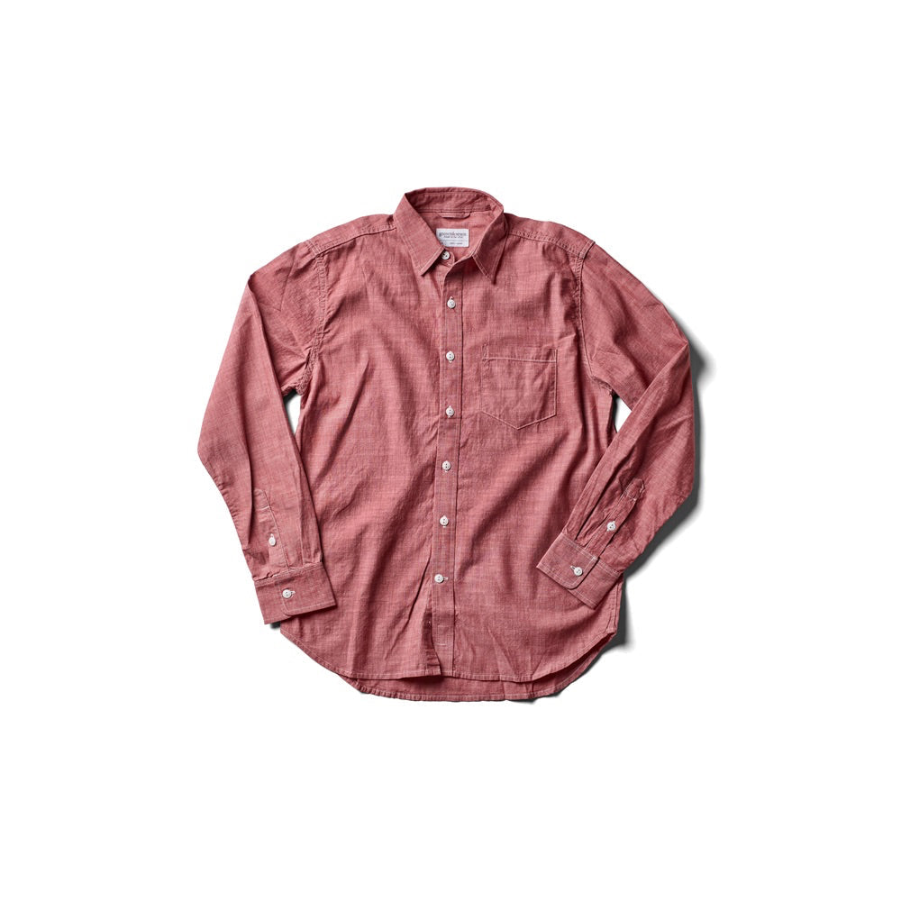 Dean Shirt - Red Chambray