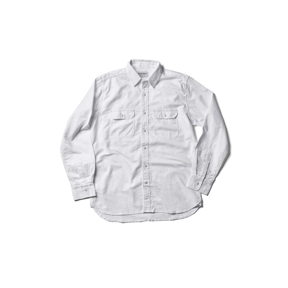 Oxford Work Shirt - White