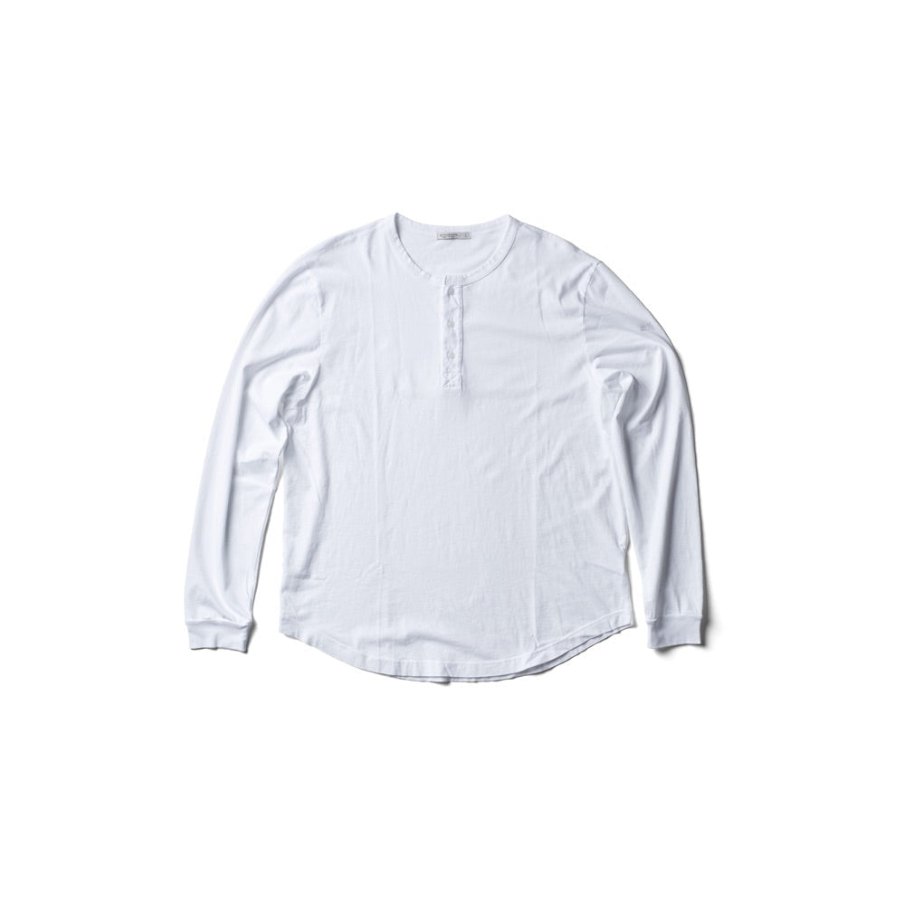 G&S Henley - White