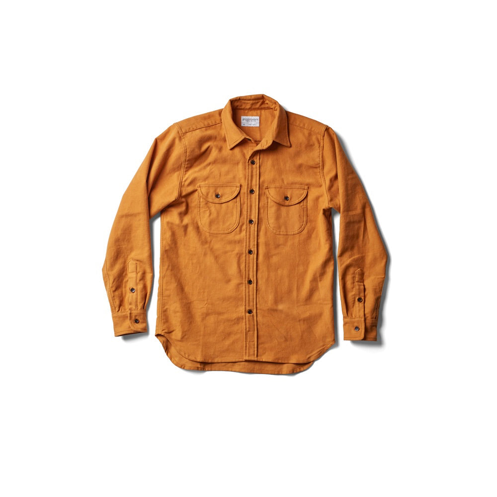 Walsh Work Shirt - Autumn Gold