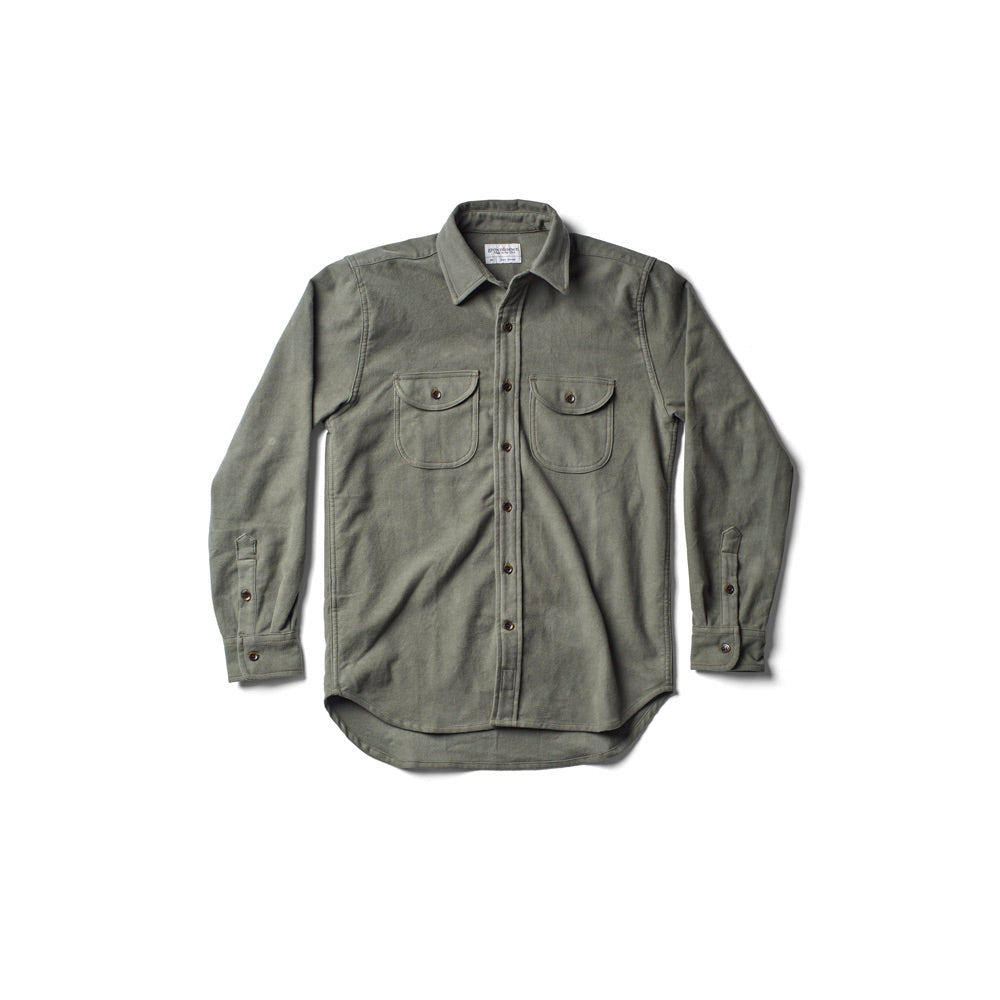 Walsh Work Shirt - Pine Green