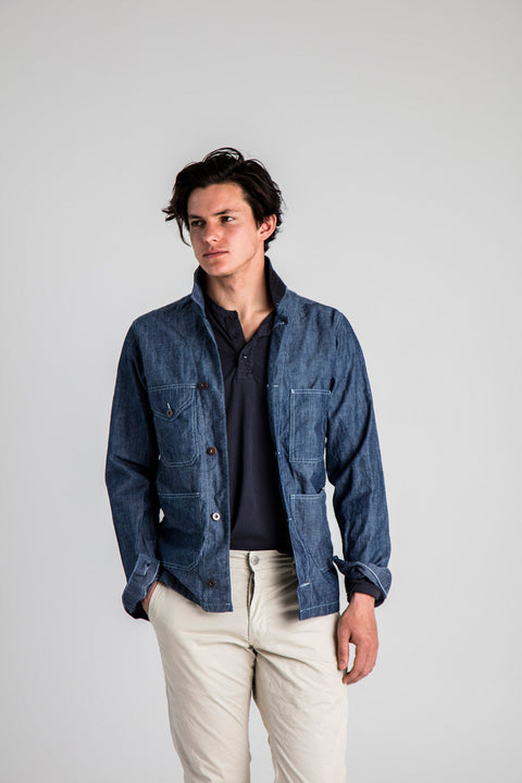 Heartland Chambray Jacket - Indigo