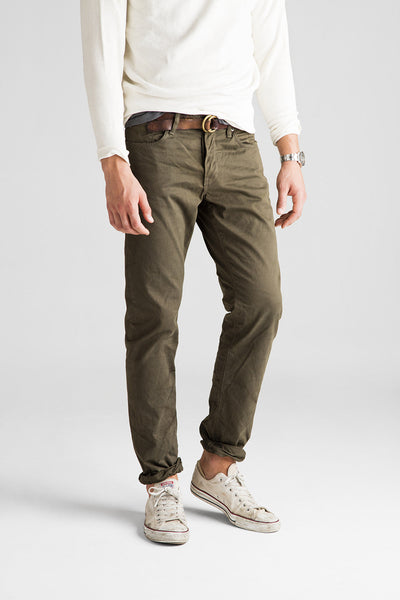 Franklin Straight Sateen Pant - Jeep Olive